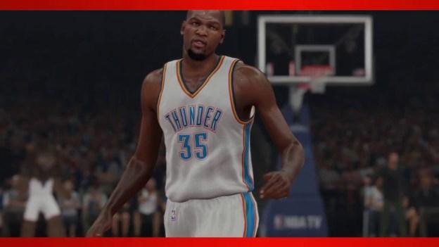 NBA 2K15 – First Look At Kevin Durant