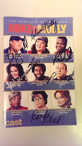 Mike & Molly Autographs