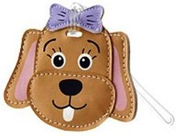 Puppy Luggage Tag