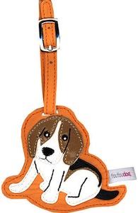 Beagle Luggage Tag
