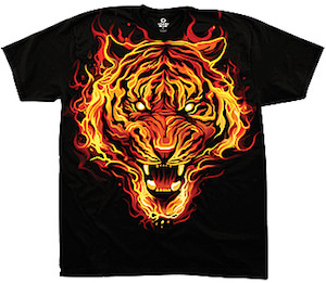 Fire Tiger T-Shirt
