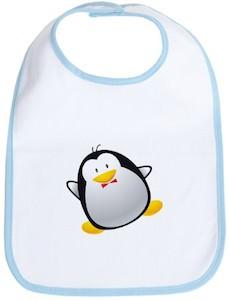 Penguin cute bib for babies