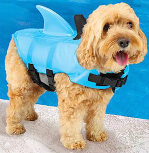 Dog Shark Life Jacket Costume