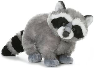 Aurora 12 Inch Plush Raccoon