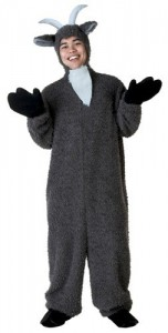 Billy Goat Fuzzy Adult Costume