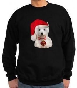 Westie Christmas Sweatshirt