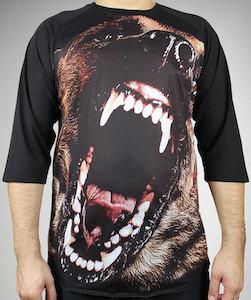 Barking Dog Raglan T-Shirt
