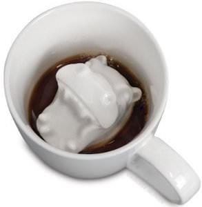 Ceramic Hippo Attack mug