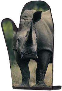 Rhinoceros Oven Mitt