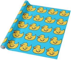 Rubber Duck Wrapping Paper