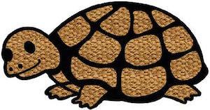 Turtle Shaped Doormat