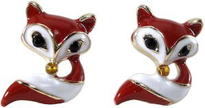 Red Fox Earrings
