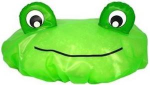 fun Frog Shower Cap