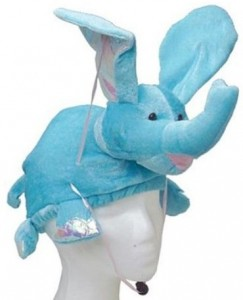 Blue Elephant Hat