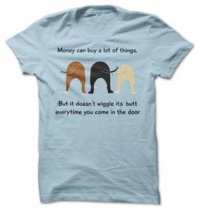 Dog Bums Wiggle T-Shirt