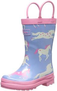 Hatley Hearts And Horse Kids Rain Boots