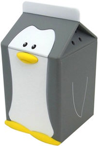 Penguin Fridge Alarm. When you open the Fridge this penguin will start talking to you.