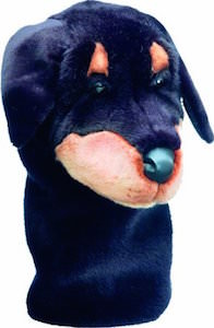 Rottweiler Golf Club Head Cover