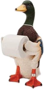Mallard Duck Toilet Paper Holder