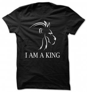 Lion I Am A King T-Shirt