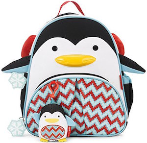 Cute Kids Penguin Winter Backpack