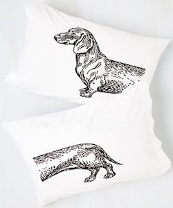 Dachshund Pillow Case Set