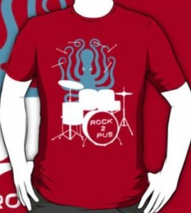 Drumming Octopus T-Shirt