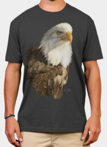 Balg Eagle Portrait T-Shirt