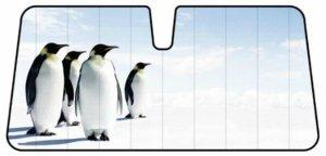Penguins Car Sun Shade