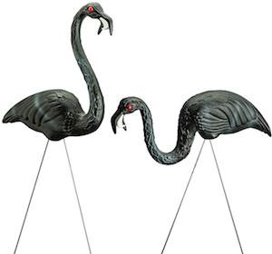 Halloween Zombie Flamingos Lawn Decorations