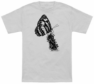 Butterfly Silhouette T-Shirt