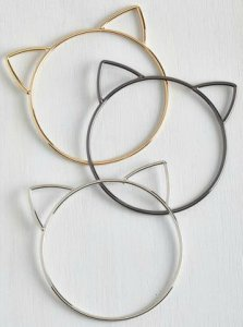 Cat Head Dangle Bracelets