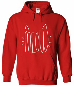 Cat Meow Hoodie