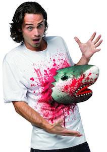 Shark Attack Costume T-Shirt