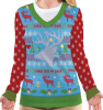 Deer Check out My Rack Ugly Sweater