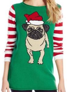 Santa Pug Christmas Sweater