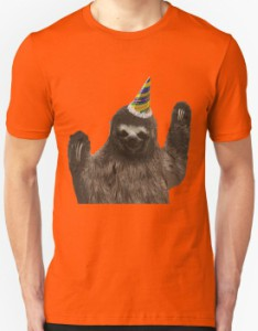 Sloth The Party Animal T-Shirt