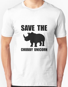 Save The Chubby Unicorn T-Shirt