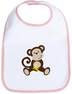 Little Monkey Bib