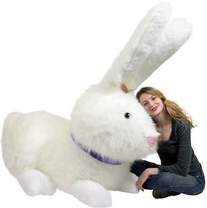 Giant Easter Bunny Plush