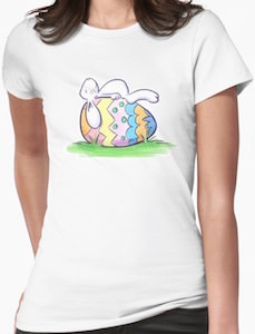 Sleeping Easter Bunny T-Shirt