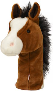 Brown Horse Golf Club Head Cover