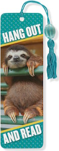 Hang Out And Read Sloth Bookmark