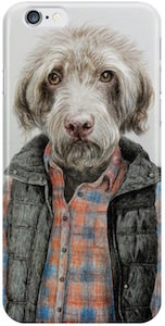 Dog Wearing Clothes iPhone Case