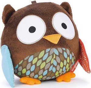 Plush Owl Baby Toy