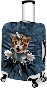 Breakout Kitten Suitcase Cover