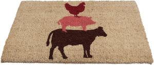 Farm Animals Doormat