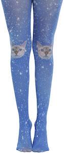Galaxy Cat Tights