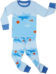 Kids Swimming Shark Pajamas