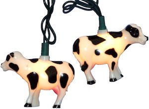 Cow String Lights